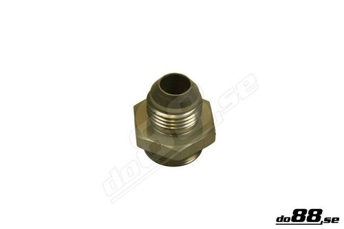 Adapter for setrab oil cooler connector to AN8 in the group Engine / Tuning / Oil cooler / Mounting at do88 AB (6-K-22-07614)