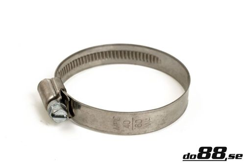 Hose clamp DD 40-60mm/12mm W4 in the group Hose accessories / Hose clamps / Standard, SS W4 High quality at do88 AB (DD4040)