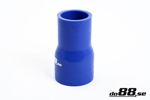 Silicone Hose Blue 1,875 - 2,125'' (48-54mm) in the group Silicone hose / hoses / Silicone hose Blue / Straight reducers at do88 AB (R48-54)