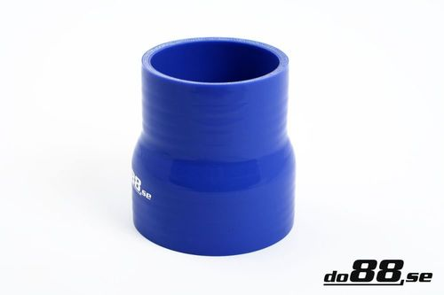 Silicone Hose Blue 2,875 - 3'' (73-76mm) in the group Silicone hose / hoses / Silicone hose Blue / Straight reducers at do88 AB (R73-76)