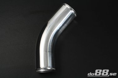 Aluminium pipe 45 degree 4'' (102mm)