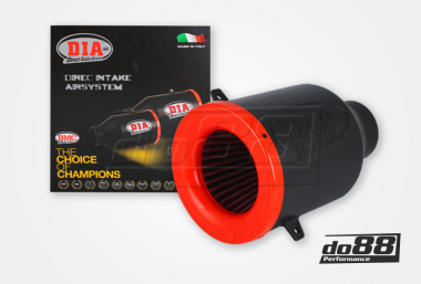 BMC DIA Direct Intake Airsystem, Plast, Anslutning 70mm, Längd 220mm