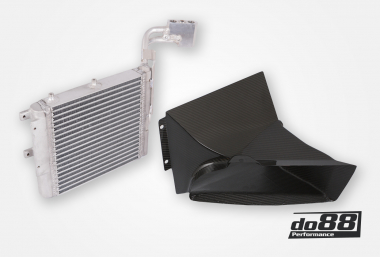 BMW M3 E90 DKG / DCT Oil cooler Racing