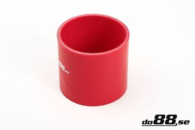 Silicone Hose Red Coupler 4'' (102mm)