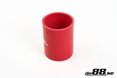 Silicone Hose Red Coupler 2,5'' (63mm)