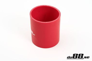 Silicone Hose Red Coupler 3,5'' (89mm)