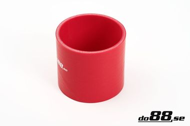 Silicone Hose Red Coupler 3,75'' (95mm)