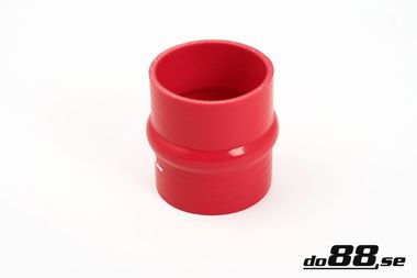 Silicone Hose Red Hump 3,125'' (80mm)
