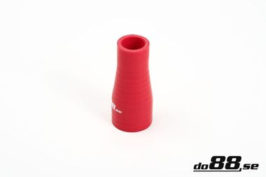 Silicone Hose Red Reducer 1 - 1,5'' (25-38mm)