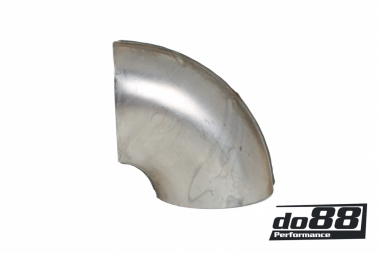 Exhaust pipe steel short elbow 90 degree 3'' (76mm)