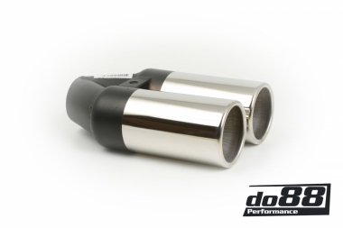 Tailpipe Twin Rond 76