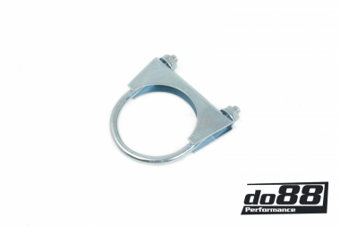 U-Bolt clamp for exhuast 80mm