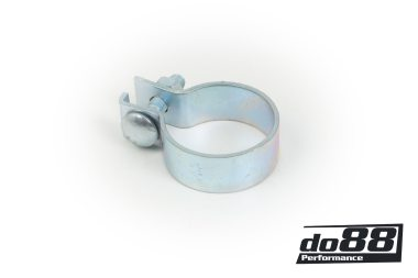 Flat clamp for exhuast 48mm