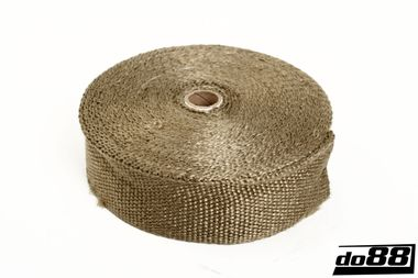 Exhaust wrap 800 deg C, 51mm, 15m roll