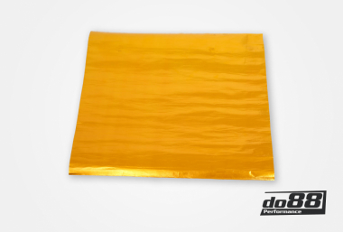 Heat insulating mat adhesive gold 50x50cm