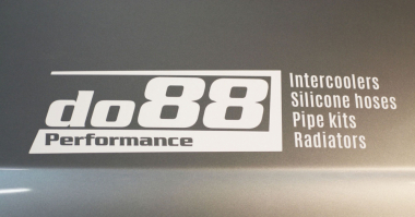 do88 silver sticker 300x75mm