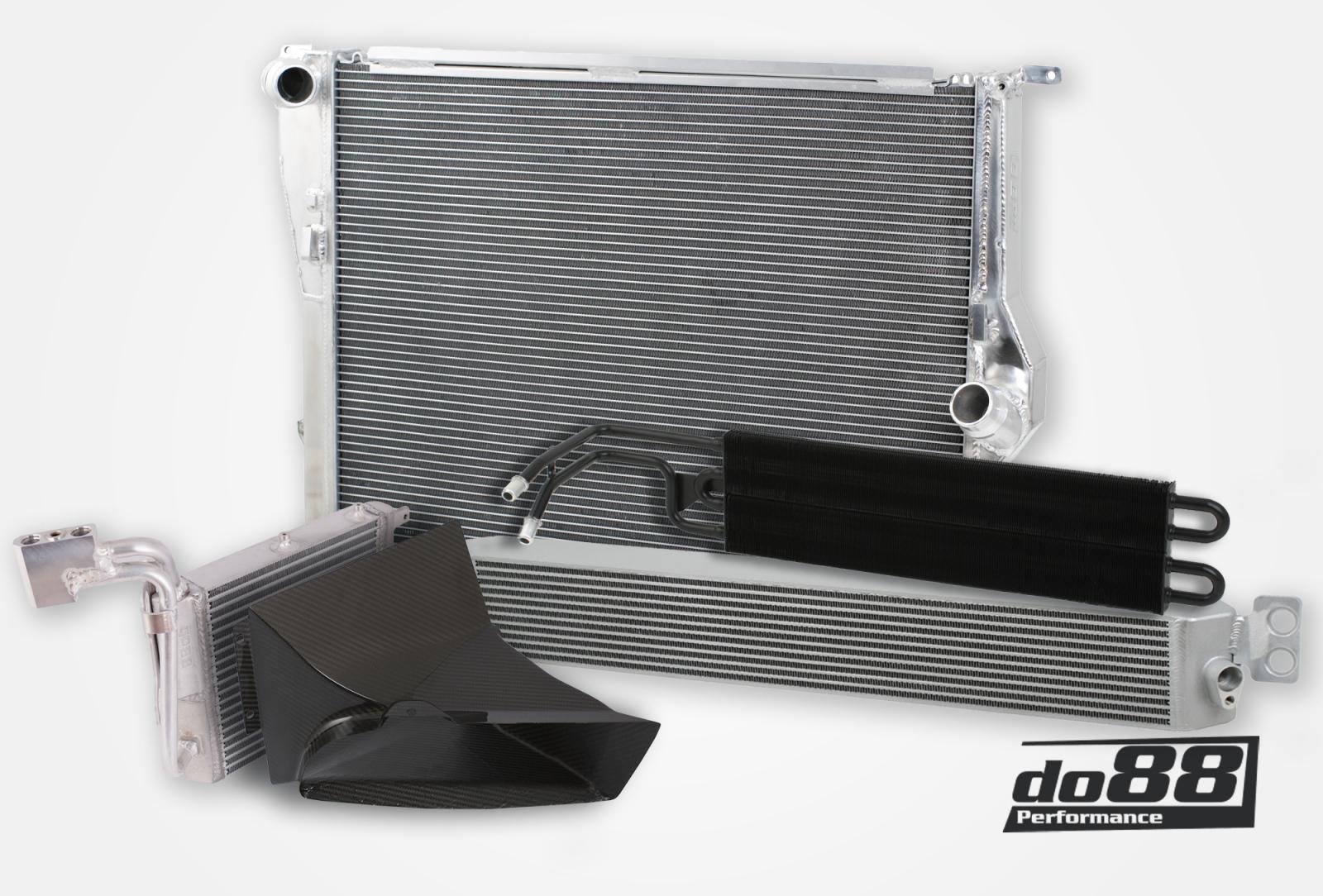 BMW M3 E90 E92 Big pack DKG DCT | BMW Oil Coolers - Model ...
