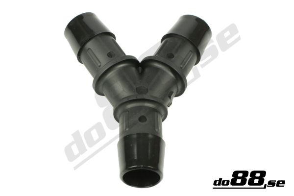 Y connector mm plastic hose fittings