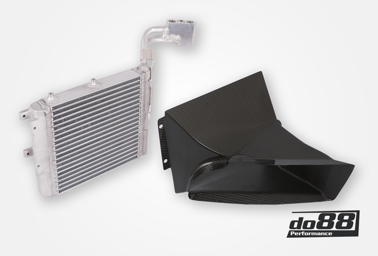 BMW M3 E90 E92 DKG / DCT Oil cooler Racing