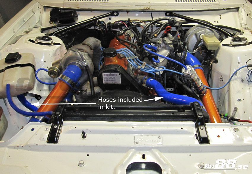 Volvo 240 Coolant hoses   240 - Volvo - Hose kits   from do88.s
