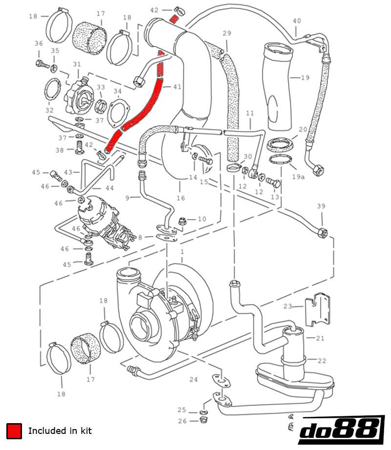 porsche 930 turbo vacuum hoses