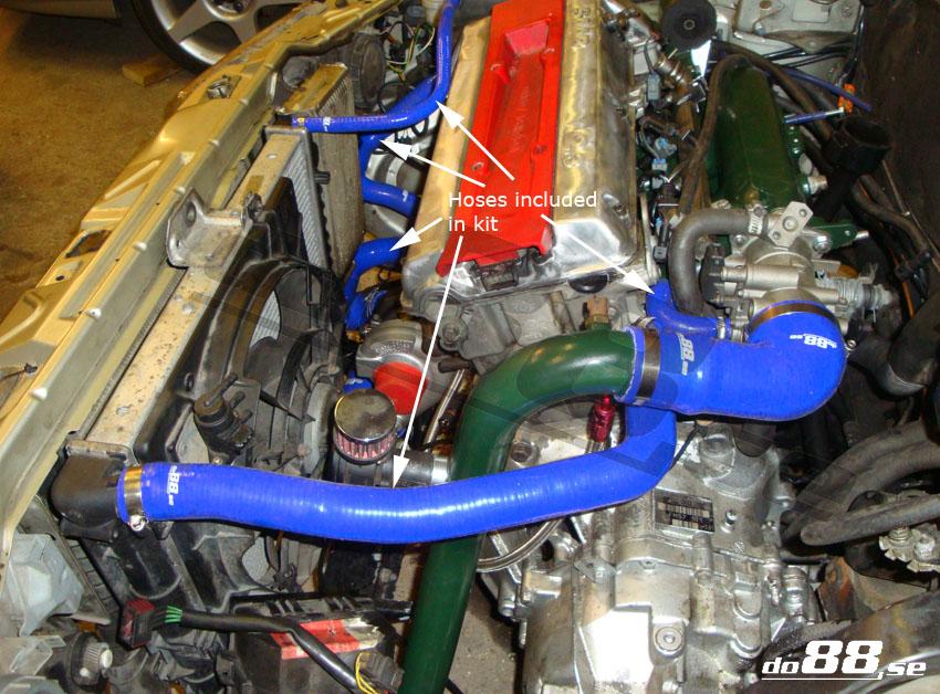 Do Kit on Volvo 850 Radiator