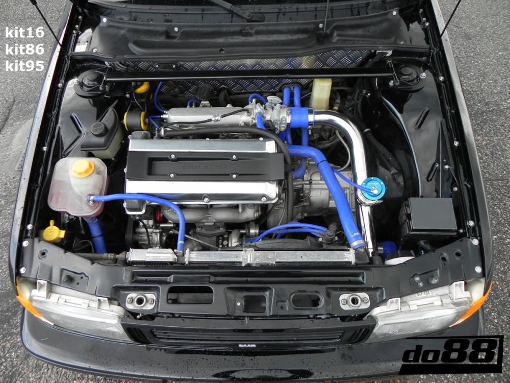 Exhaust Heat Wrap >> SAAB 9000 Turbo 94-98 Coolant hoses | 9000 - Saab - Hose ...