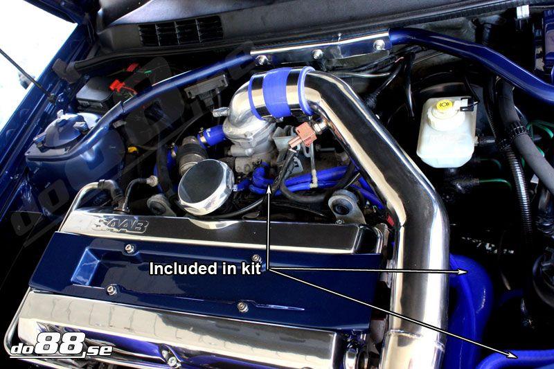 Saab 900 9 3 turbo 94 00 coolant hoses 900 og9 3 saab h