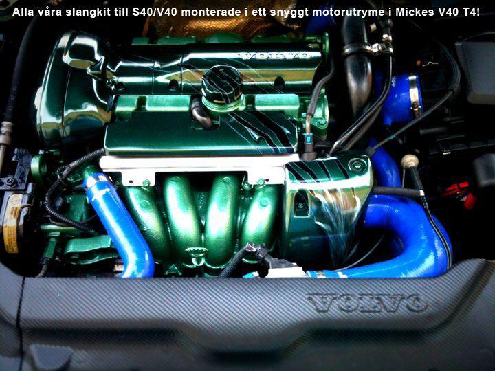 volvo s40v40 20tt4 9804 pressure hoses v40 s40 volvo